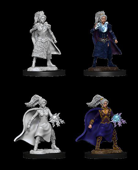 D&D Nolzurs Marvelous Unpainted Miniatures Female Human Sorcerer