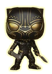 Black Panther - Killmonger Panther Glow US Exclusive Pop! Vinyl