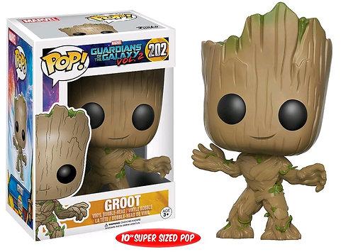 "Guardians of the Galaxy: Vol. 2 - Groot Life-Size US Exclusive 10"" Pop! Vinyl"
