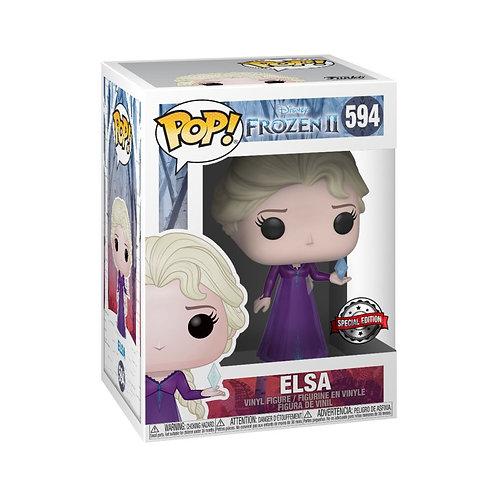 Frozen II - Elsa in Nightgown US Exclusive Pop! Vinyl