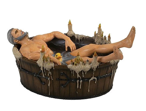 The Witcher 3: Wild Hunt - Geralt in the Bath Statuette