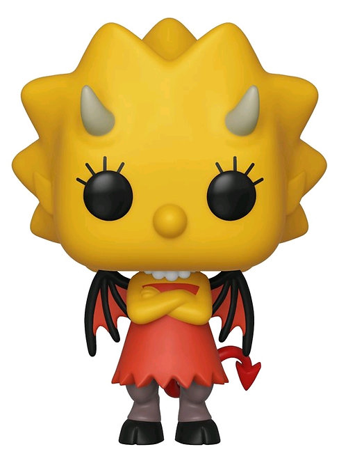 The Simpsons - Lisa as Devil Pop! Vinyl