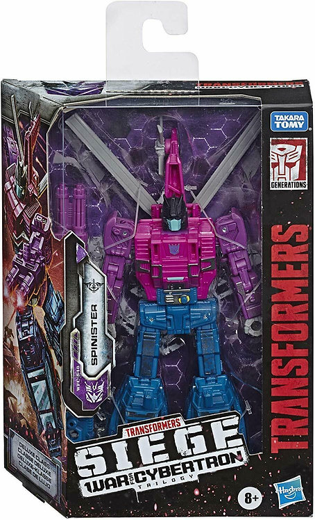 TRANSFORMERS - SPINSTER War for Cybertron Deluxe Class WFC-S48