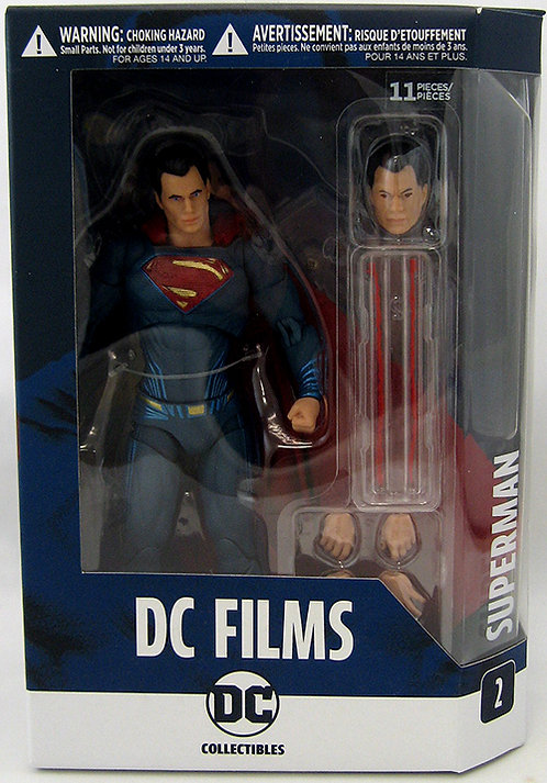 DC Films Collection- Superman Figure