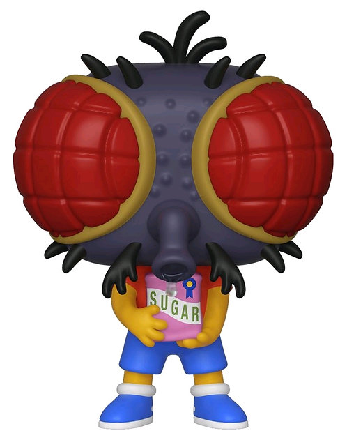 The Simpsons - Bart Fly Pop! Vinyl