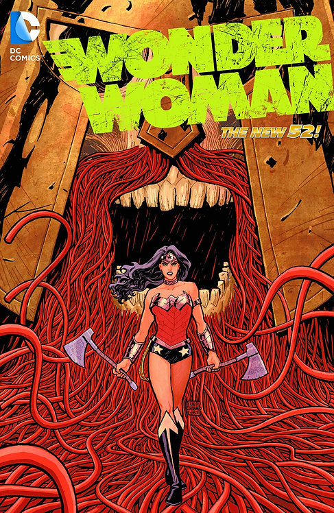 WONDER WOMAN HC VOL 04 WAR (N52)