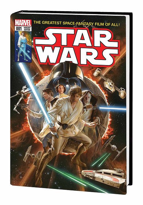 STAR WARS MARVEL COVERS HC VOL 01 ROSS CVR