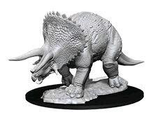 D&D Nolzurs Marvelous Unpainted Miniatures Triceratops
