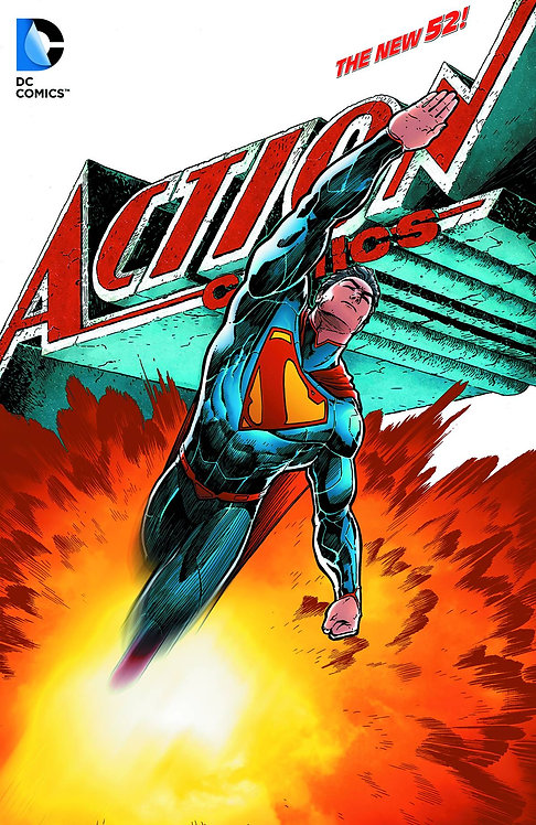 SUPERMAN ACTION COMICS HC VOL 05 WHAT LIES BENEATH (N52)