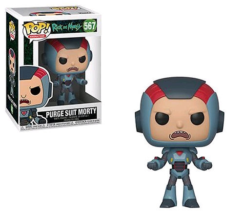 Rick and Morty - Morty in Purge Suit Pop! Vinyl