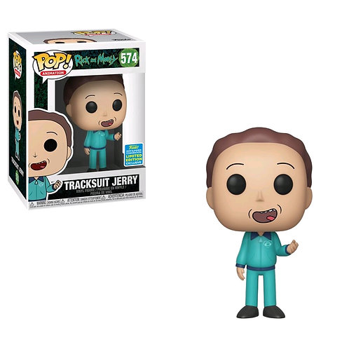 Rick and Morty - Jerry in Track Suit SDCC 2019 US Exclusive Pop! Vinyl