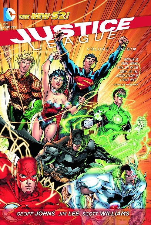 JUSTICE LEAGUE TP VOL 01 ORIGIN