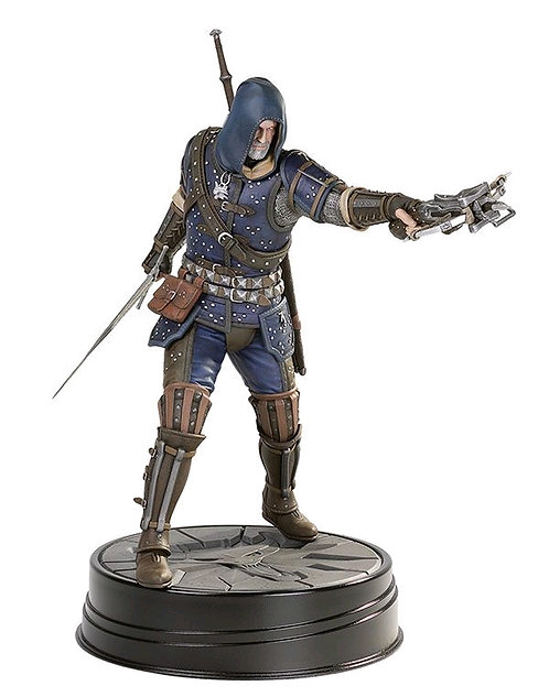 The Witcher 3: Wild Hunt - Geralt Grandmaster Feline Statue