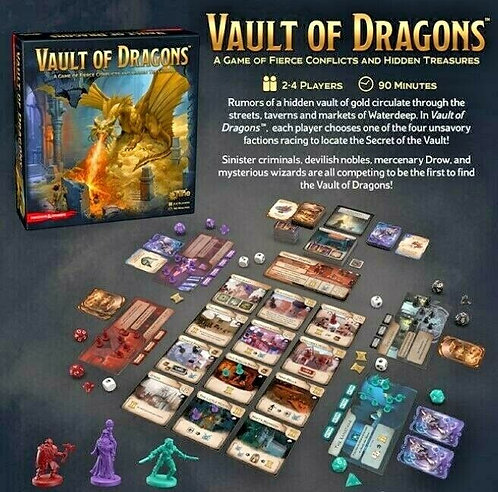 Dungeons & Dragons - Vault of Dragons Board Game