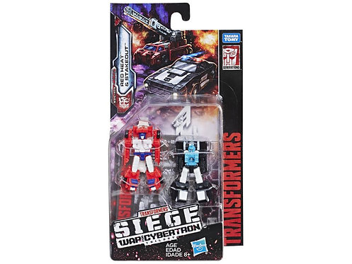 Transformers War for Cybertron: Siege Micromaster Redheat & Stakeout