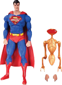 DC Icons - Superman (Man of Steel) Action Figure