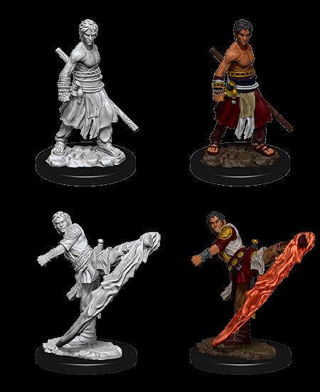 D&D Nolzurs Marvelous Unpainted Miniatures Male Half-Elf Monk