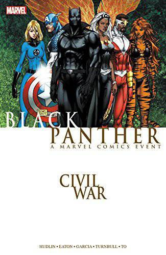 CIVIL WAR BLACK PANTHER TP