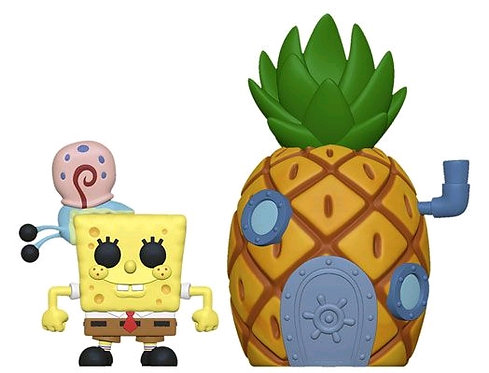 Spongebob SquarePants - Spongebob with Pineapple Pop! Town