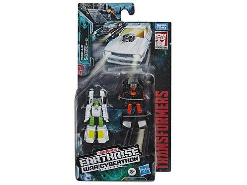 Transformers War for Cybertron: Earthrise Micromaster Tripup & DaddyO