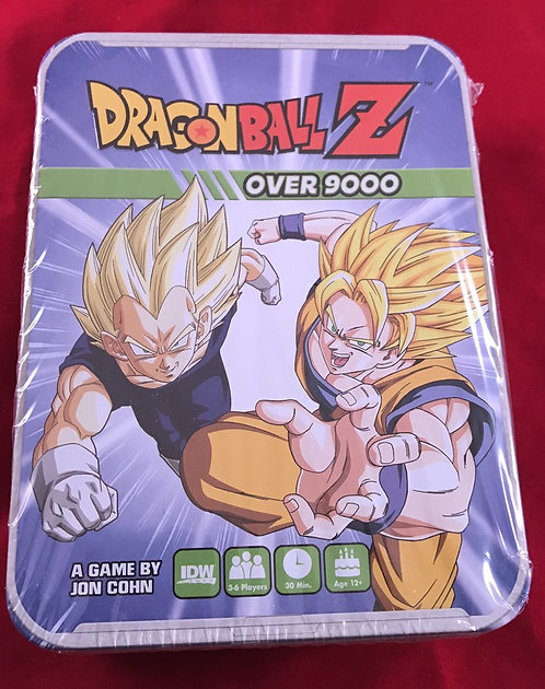 Dragon Ball Z - Over 9000 Board Game
