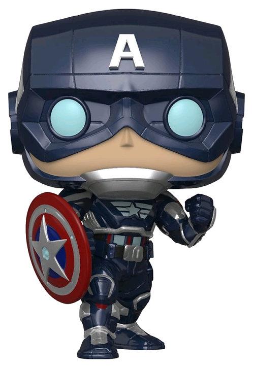 Avengers (Video Game 2020) - Captain America Pop! Vinyl