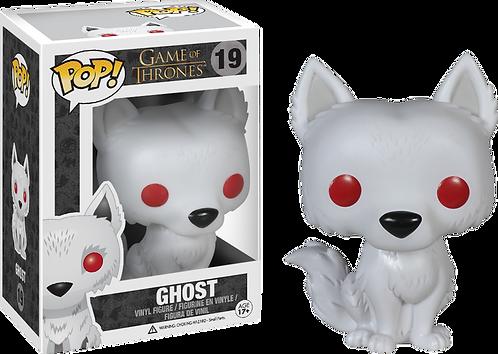 Game of Thrones - Direwolf Ghost Pop! Vinyl
