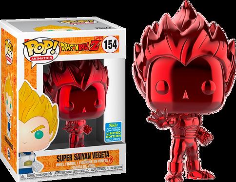Dragon Ball Z - Super Saiyan Vegeta Red Chrome 2019 Con Limited Edition