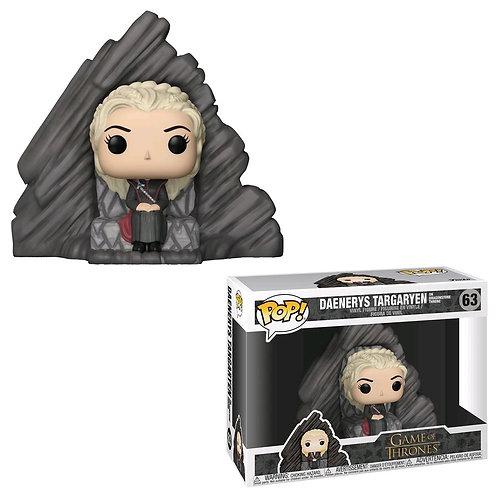 Game of Thrones - Daenerys Targaryen Dragonstone Throne Pop! Deluxe