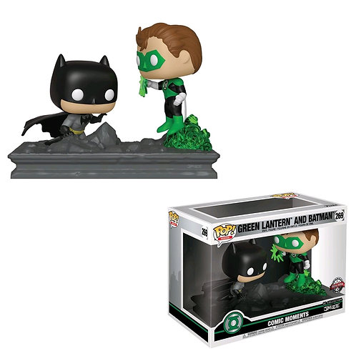 Green Lantern - Green Lantern & Batman Jim Lee US Exclusive Comic Moment Pop! Vi