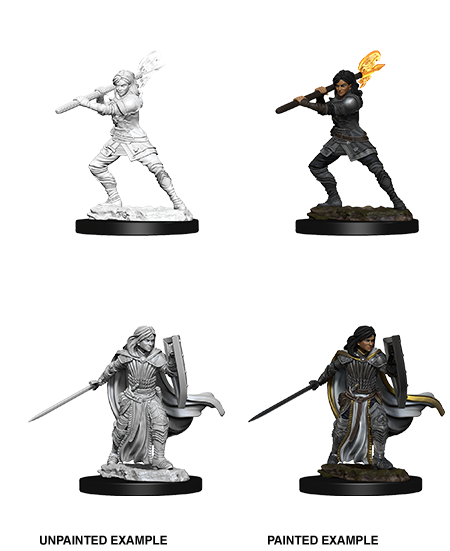 D&D Nolzurs Marvelous Unpainted Miniatures Female Human Paladin