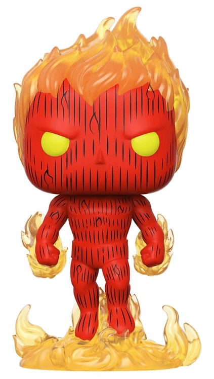 Fantastic Four - Human Torch Pop! Vinyl