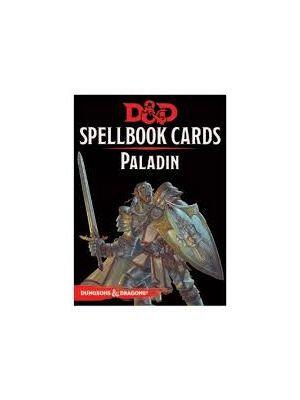 D&D Spellbook Cards Paladin Deck (69 Cards) Revised 2017 Edition
