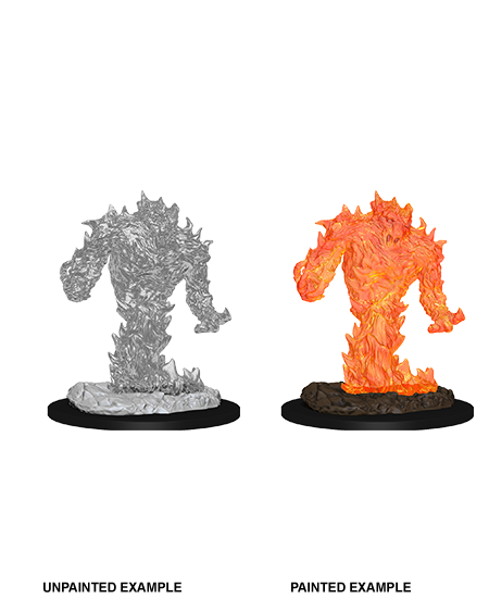 D&D Nolzurs Marvelous Unpainted Miniatures Fire Elemental
