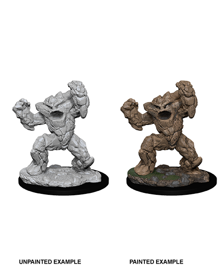 D&D Nolzurs Marvelous Unpainted Miniatures Earth Elemental