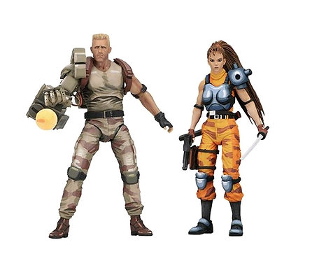 "Alien v Predator - Dutch & Lin 7"" Arcade Figure 2-pack"