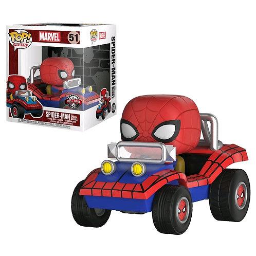 Spider-Man - Spider-Man with Spider Mobile US Exclusive Pop! Ride