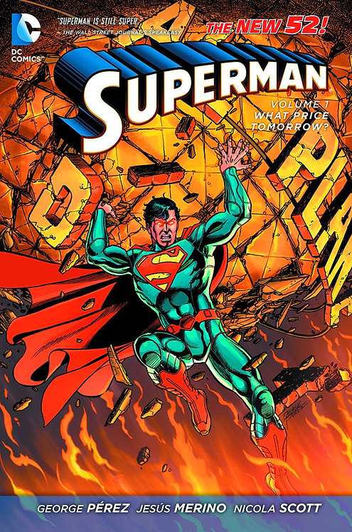 SUPERMAN HC VOL 01 WHAT PRICE TOMORROW (N52)