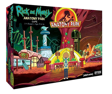Rick and Morty - Anatomy Park Board Game