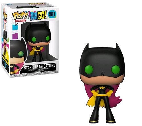 Teen Titans Go! - Starfire as Batgirl Pop! Vinyl