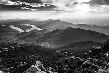 Whiteface Black and White