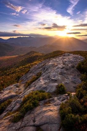 Sunset from Hurricain Mt. NY