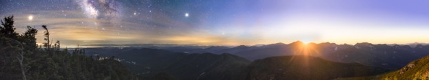 Day and Night - Nippletop Mt. 10 X 40