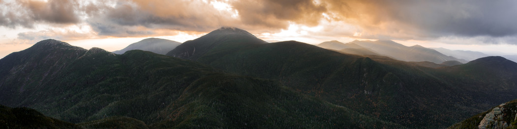 Sunset from Basin - 10 X 40