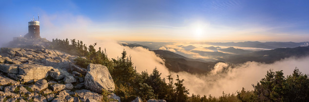 Whiteface Mt. Sunrise 10 X 40