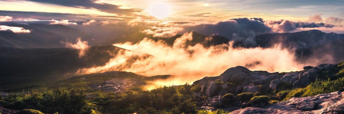 Sunrise From Mt. Marcy 10 X 30