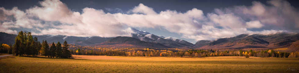 Colliding Seasons High Peaks 10 X 40