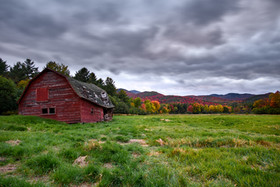 Barn on Rt 73, Keene, NY
