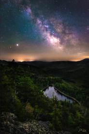 Milky Way Over Giant's Nubble