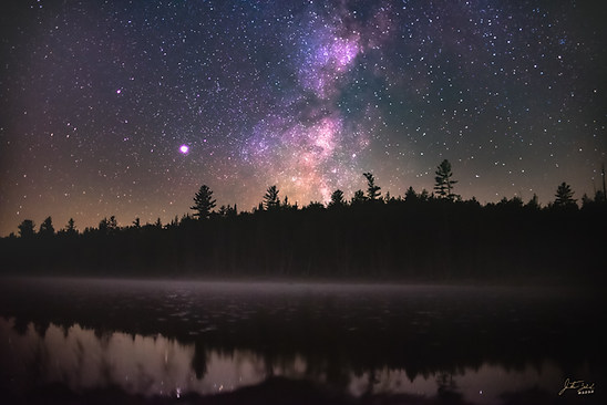 Milky Way Over Lake Jimmy